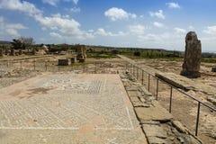 Mosaicos romanos en Chipre Imagen de archivo libre de regalías