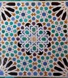 Mosaics in Alhambra palace, Granada, Spain Stock Photography