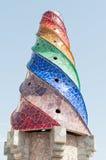 Mosaics Antonio Gaudi Stock Photography
