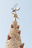 Mosaics Antonio Gaudi Stock Image