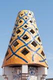 Mosaics Antonio Gaudi Stock Photos