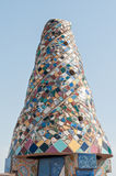 Mosaics Antonio Gaudi Stock Photography
