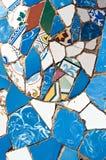 Mosaics Antonio Gaudi Stock Photo