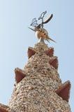 Mosaics Antonio Gaudi Stock Images