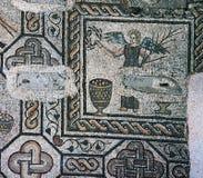 Mosaics of Aula theodoriene meridionale, city of Aquileia Royalty Free Stock Image