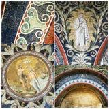 Mosaics of The Baptistry of Neon Royalty Free Stock Photos