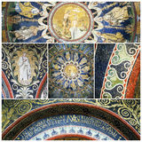 Mosaics of The Baptistry of Neon Stock Photo