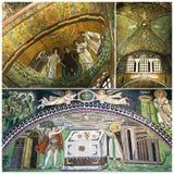 Mosaics The Basilica of San Vitale Royalty Free Stock Image