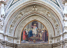Mosaics of cathedral in Florence, Italy Royalty Free Stock Images