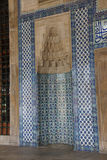 Mosaics covering the outside walls  of the Rustem Pasha Mosque, Stock Photography
