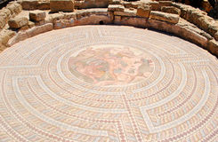 Mosaics in cyprus Royalty Free Stock Photo