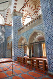Mosaics decorating     Rustem Pasha Mosque Royalty Free Stock Image