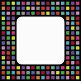 Mosaics frame Stock Image