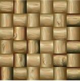 Mosaics made of wood Stock Photos