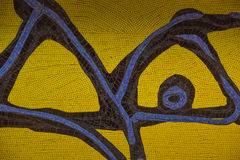 Mosaics in Metro Station Spagna in Rome Royalty Free Stock Image