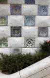 Mosaics in Park Guell Royalty Free Stock Photography