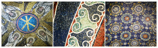 Mosaics of Ravenna, Italy Royalty Free Stock Photography
