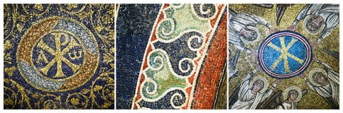 Mosaics of Ravenna, Italy Stock Photo