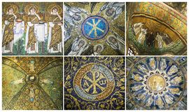 Mosaics of Ravenna, Italy Royalty Free Stock Photo