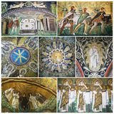 Mosaics of Ravenna, Italy Stock Photos