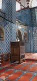 Mosaics of  Rustem Pasha Mosque Royalty Free Stock Photos