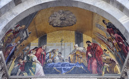 Mosaics of San Marco Cathedral. Venice. Italy Stock Photo