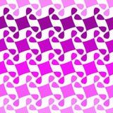 Mosaics Turning Around Seamless Pattern. Square shaded mosaics turning around geometric pattern. Seamless tile Stock Photos