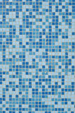 Mosaik. Blue background from mosaic on a wall royalty free stock images
