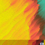 mosaik Abstraktes polygonales Backgroun Futuristischer Entwurf Lizenzfreie Stockfotografie