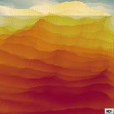 mosaik Abstraktes polygonales Backgroun Futuristischer Entwurf Lizenzfreies Stockbild