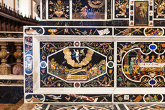 Mosaik-Altar in Chiesa-Di Santa Corona in Vicenca Stockbilder