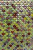 Mosaik auf der Wand Stockbilder
