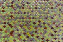 Mosaik auf der Wand Stockbild