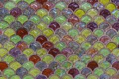 Mosaik auf der Wand Lizenzfreie Stockfotografie