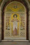 Mosaik av helgonet Agatha Royaltyfri Foto