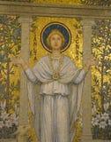 Mosaik av helgonet Agnes Arkivfoton