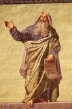 Mosaik av profeten Daniel Royaltyfria Foton
