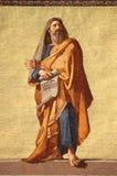 Mosaik av profeten Jeremiah Arkivfoton