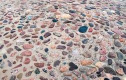 Mosaik av stenar Royaltyfri Fotografi