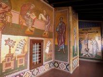 Mosaik bei Kykkos Monastry Lizenzfreies Stockbild