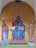 Mosaik bei Monte Cassino Stockfotos