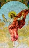 Mosaik bei Peter u. bei Paul Church, Prag Stockfotografie