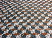 Mosaik in Delos, Griechenland Lizenzfreie Stockbilder