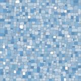 Mosaik in den kalten Farben Lizenzfreie Stockfotografie