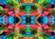 Mosaik der bunten Steine Geometrische bunte Linien und Muster Abstraktion von Farben Lizenzfreie Stockbilder
