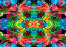 Mosaik der bunten Steine Geometrische bunte Linien und Muster Abstraktion von Farben Stockbilder