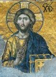 Mosaik des Jesus Christus Stockfoto