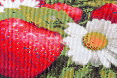 Mosaik Diamond Painting lizenzfreies stockbild