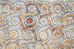 Mosaik in Ephesus Stockbild