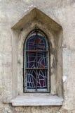 Mosaik-fönster - St.Ruprechts-kyrka i Wien arkivbild